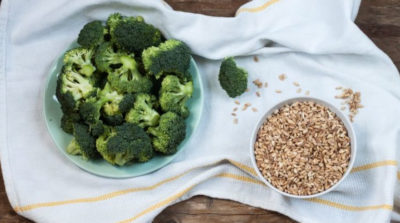 Orzotto con cannellini e broccoli