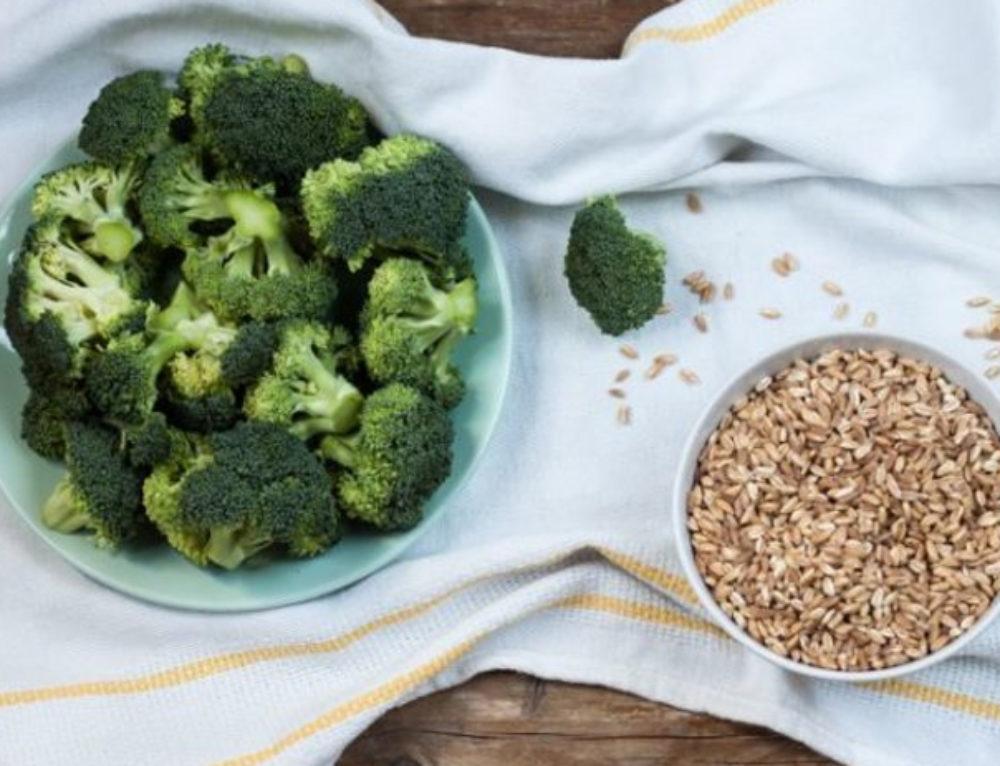 Orzotto con cannellini e broccoli